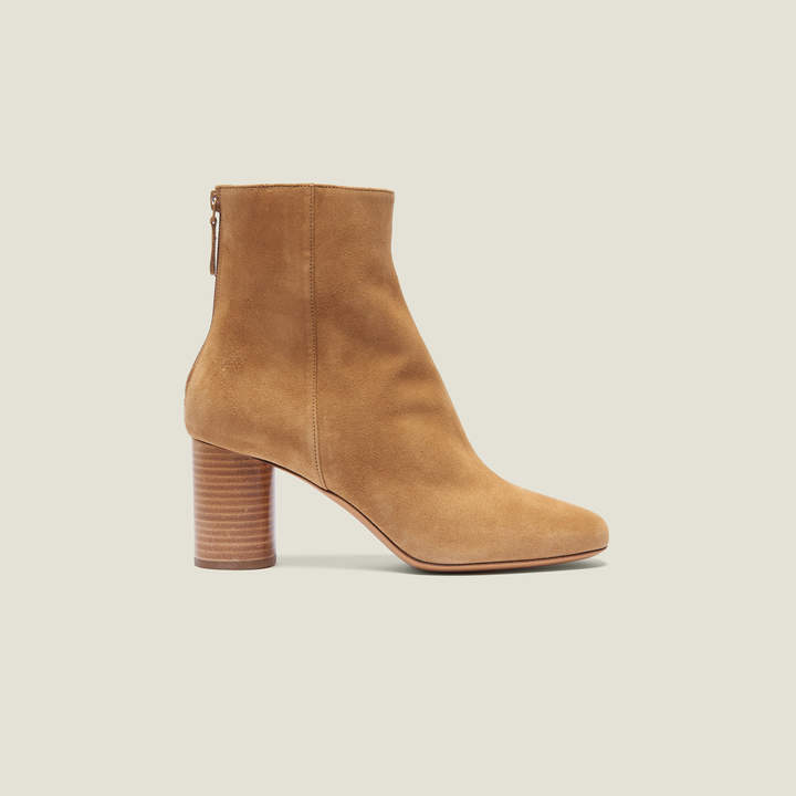 41a164b542c Split Leather Ankle Boots