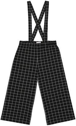 Il Gufo Checked cotton pants