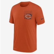 Nike Men's Chicago Bears Dri-Fit Cotton Facility T-shirt