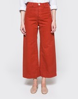 Jesse Kamm Sailor Pant in Iron Oxide