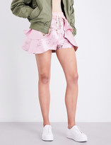 Fenty X Puma Floral-jacquard shorts