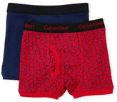 Calvin Klein Toddler Boys) Two-Pack Boxer Briefs
