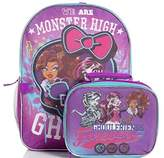Unknown Monster High Ghoulfriends Forever Girls Backpack and Lunch Tote Bag
