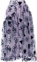 Simone Rocha flower full skirt