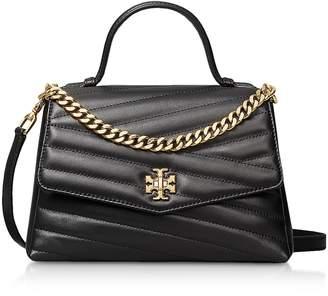 Tory Burch Black Kira Chevron Top-handle Satchel Bag