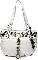 Kathy Van Zeeland Bling Belt Shopper Bag