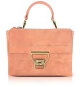Coccinelle Pompelmo Suede Arlettis Mini Bag w/Shoulder Strap