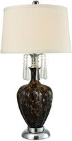 Dale Tiffany Elements Led Hand Blown Art Glass Table Lamp