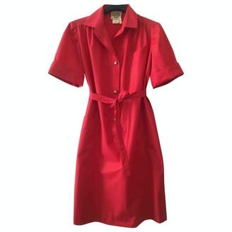 Hermes Red Dress for Women Vintage
