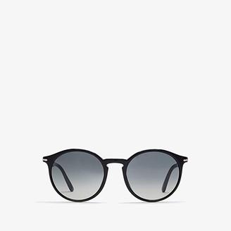 Persol 0PO3214S (Black/Gray Gradient Dark Grey) Fashion Sunglasses