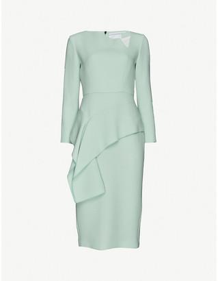 Roland Mouret Abbaye wool midi dress