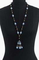 J.Crew Women's Beaded Drop Necklace