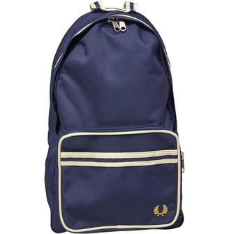 Fred Perry Mens Twin Tipped Back Pack Navy