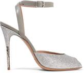 Silver Sandal Heels - ShopStyle