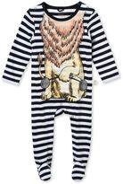 Stella McCartney blue twiddle babygrow