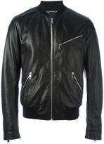 Dolce & Gabbana zip bomber jacket