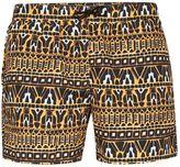 Topman Geometric Print Swim Shorts