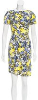 Erdem Floral Print Sheath Dress