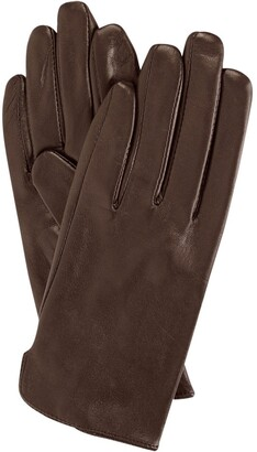 Dents Classic Leather Gloves Chocolate