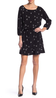 Joie 3/4 Sleeve Printed Dress