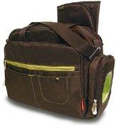 Fisher-Price Carryall Diaper Bag, Brown