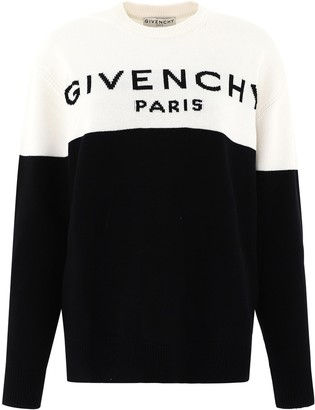 Givenchy Two Tone Knitted Sweater