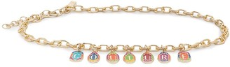 Versace Jeans Couture Couture Charm Chain Belt