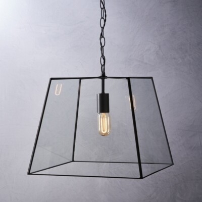 The White Company Brooklyn Large Ceiling Light, Bronze, One Size