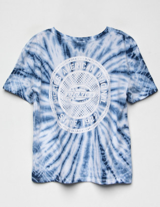 Dickies Tie Dye Icon Check Girls Tee