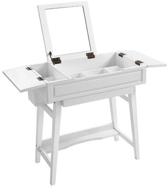 Bronx Longley Wooden Vanity with Mirror Ivy