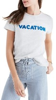 Madewell Women's Vacation Embroidered Tee