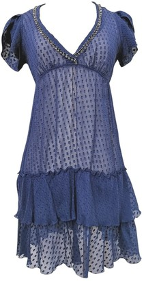 No Name \N Blue Silk Dresses