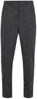 Ami Carrot-fit Wool Trousers