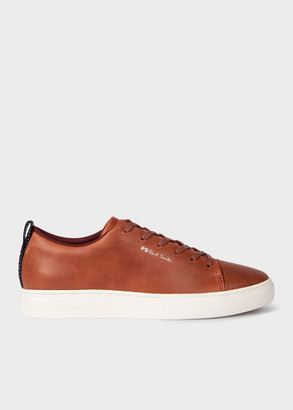Men's Tan Leather 'Lee' Trainers