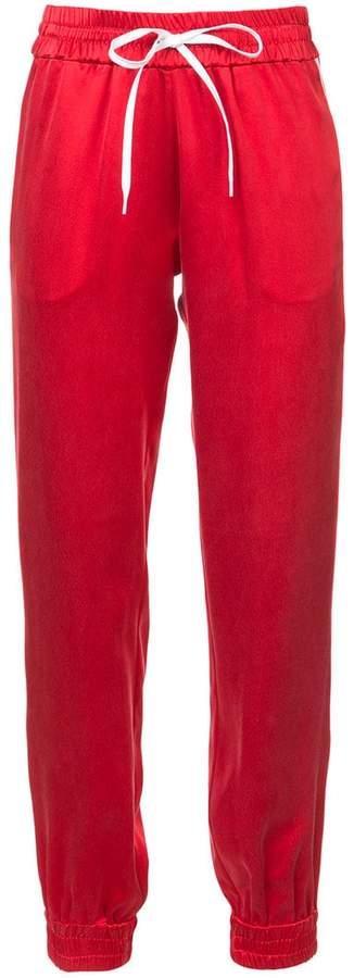 Amiri side-stripe track pants