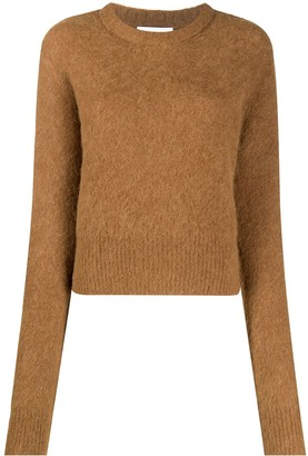 Helmut Lang Fitted Fine Knit Jumper