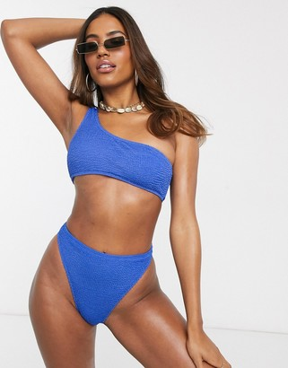 South Beach Mix and Match Textured Tue Side Bikini Bottom