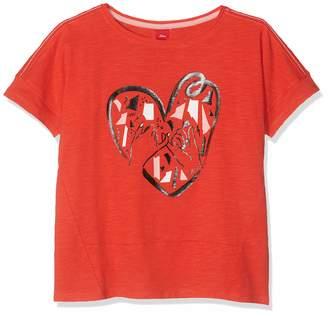 S'Oliver Girl's 66.908.32.5692 T-Shirt