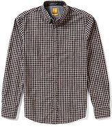 HUGO BOSS BOSS Orange Edipoe Check Poplin Long-Sleeve Woven Shirt