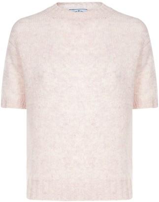 Prada Shetland Knitted T-Shirt