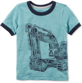 Carter's Construction Graphic-Print T-Shirt, Toddler Boys (2T-5T)