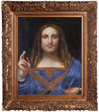 Leonardo Overstock Art La Pastiche By Overstockart Salvator Mundi By Da Vinci