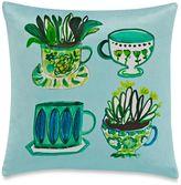 Kate Spade Tea Party Throw Pillow in Green