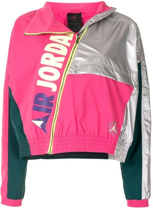Nike Jordan Winter panelled track jacket