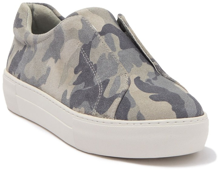 J/Slides Alara Leather Slip-On Sneaker