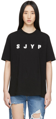 Sjyp Black Logo T-Shirt