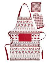 Fashion World Cherish Apron, Glove & Potholder