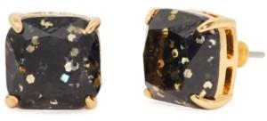 Kate Spade Glitter Crystal Square Stud Earrings