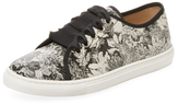 LK Bennett Bette Leather Low Top Sneaker