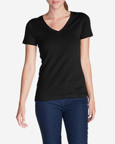 Eddie Bauer Women's Favorite Short-Sleeve V-Neck T-Shirt